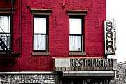 Fire Escape Metal Prints - Brooklyn Bar Metal Print by Diane Diederich