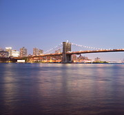 Fdr Drive Prints - Brooklyn Bridge Print by Damon Barrett