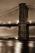 Gary Heller - Brooklyn bridge golden...