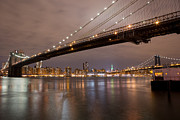 Leslie Leda - Brooklyn Bridge Lights