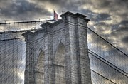 Brooklyn Bridge Posters - Brooklyn Bridge Poster by Matthew Bamberg