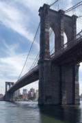Brooklyn Bridge Print by Mike McGlothlen