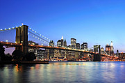 Paul Van Baardwijk Art - Brooklyn Bridge by Paul Van Baardwijk