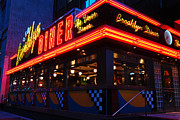 James Kirkikis Art - Brooklyn Diner USA by James Kirkikis