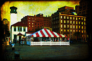 Artography Acrylic Prints - Brooklyn - Fulton Ferry Landing Acrylic Print by Mark E Tisdale