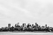 Skylines Photo Metal Prints - Brooklyn New York  Metal Print by Diane Diederich