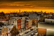 Earth Tone Prints - Brooklyn sunrise Print by James McDowell