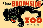 Jennifer Rondinelli Reilly Posters - Brookside Zoo Poster by The  Vault - Jennifer Rondinelli Reilly
