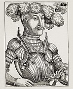 Woodcuts Photos - Brosamer, Hans 1500-1554. Philip by Everett