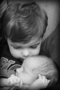 Kelly Hazel Acrylic Prints - Brotherly Love Acrylic Print by Kelly Hazel