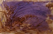 Teca Burq-Art - Brown Earth Purple Sea