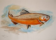 Brown Trout Originals - Brown Trout by Troy Thomas
