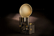 Antique Art - Brownie Flash Six-20 Circa 1946-1955 by Peter Tellone