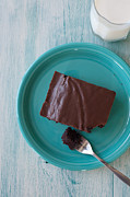 Brownie Prints - Brownie for Breakfast Print by Kay Pickens
