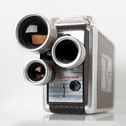 8mm Photos - Brownie Movie Camera by Art Whitton