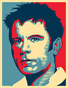 Player Digital Art Posters - Bruce Dickinson Poster by Unknow