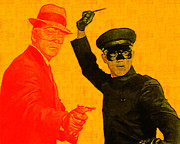 Judo Prints - Bruce Lee Kato and The Green Hornet 20130216 Print by Wingsdomain Art and Photography