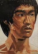 Bruce Lee Print by Patrick Killian