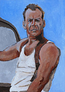 Bruce Painting Originals - Bruce by Robert Bissett