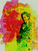 Bruce Springsteen Painting Prints - Bruce Springsteen Print by Irina  March