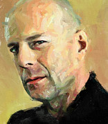 Sightseeing Digital Art - Bruce Willis by Yury Malkov