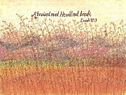 Wheat Pastels - Bruised Reed by Catherine Saldana