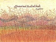 Bruised Reed Print by Catherine Saldana