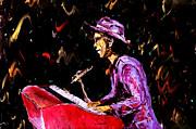 Bruno Mars  Print by Mark Moore