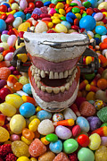 Confectionery Prints - Brush Your Teeth Print by Garry Gay