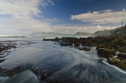 Cape Town Framed Prints - Brushing the Blue Framed Print by Aaron S Bedell