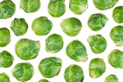 Sprouts Framed Prints - Brussels Sprouts Framed Print by Jim Hughes