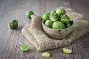 Sprouts Posters - Brussels sprouts Poster by Sabino Parente