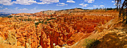 Landscape Art Posters - Bryce Canyon June Panorama Poster by Greg Norrell