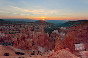Escalante Grand Staircase Posters - Bryce Canyon Sunrise Poster by Jennifer Grover
