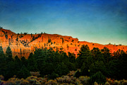 Ellen Lacey Prints - Bryce Canyon Sunset Print by Ellen Lacey