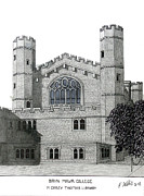 Other Famous University Campus Buildings - Bryn Mawr College by Frederic Kohli