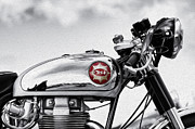 Motorcycle Metal Prints - BSA Goldstar Metal Print by Tim Gainey