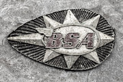 Bsa Photos - BSA Nostalgia BW by Martin Bergsma