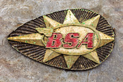 Bsa Photos - BSA Nostalgia by Martin Bergsma