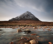 Most Photo Framed Prints - Buachaille Etive Mor Framed Print by Maria Gaellman