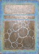 Silver Turquoise Originals - Bubble Window by K Mrachek
