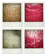 Packing Metal Prints - Bubble wrap art Metal Print by Les Cunliffe