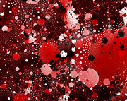 Bold Digital Art - Bubbles by David Ridley
