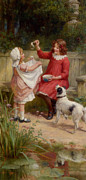 Bubbles Print by George Sheridan Knowles