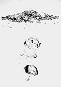 Drop Drawings Originals - Bubbles by Oksana Nabok