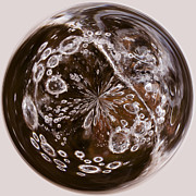 Orbital Prints - Bubbles Within Bubble Print by Anne Gilbert