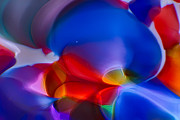 Handblown Glass Prints - Bubbling Print by Omaste Witkowski