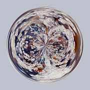 Bubbly Framed Prints - Bubbly Orb Framed Print by Brent Dolliver