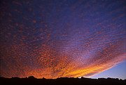 Bubbly Prints - Bubbly sunset over Moab Rim Print by Duncan Mackie