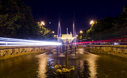 Speedy Originals - Bucharest night traffic by Ioan Panaite